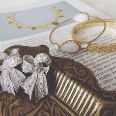 Victorian Ribbon earrings | chouchou