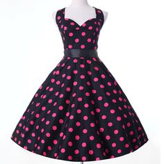 Cheap dress cocktail dress, Buy Quality dress shirt sleeve measurement directly from China dress smock Suppliers: Vestidos Women Dress RE6089 Polka Dot Short Sleeve Retro Casual Robe Rockabilly Party Dress 50s 60s Pinup Swing Vintage