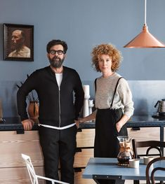 An Italian Man, a Scandinavian Woman and Their Chic Home in Oslo - The New York Times