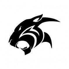 Black Panther Tattoo, Panther Logo, Cool Art Drawings, Animal Drawings, Jaguar Tattoo, Animal Stencil, Best Background Images, Lion Art, Head Tattoos