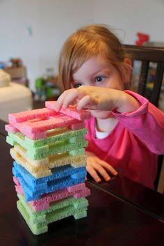 Esponjas podem virar brinquedos