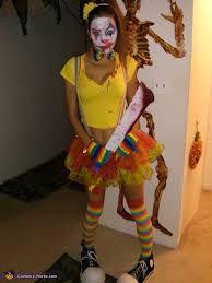 Image result for diy clown costume