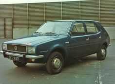 OG | 1976 Renault 14 - Project 121 | Early full-size proposal