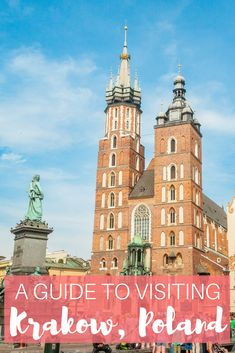 Krakow is a vibrant city full of beautiful architecture and delicious food. Here's a guide to visiting Krakow, Poland!