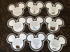 Surprise! Follow the clues... We are going to Walt Disney World! Fun scavenger hunt clues for the big disney vacation reveal!