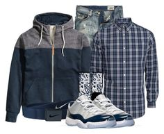 """Deonte"" by og-kinghenry15 ❤ liked on Polyvore featuring Retrò and NIKE"