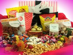 916 Candy and Nuts Pamper Hamper, Baby Gift Hampers, Corporate Gift Baskets, Corporate Gifts, Christmas Gift Baskets, Christmas Gifts, Thank You Gifts, Gifts For Him, Chocolate Hampers