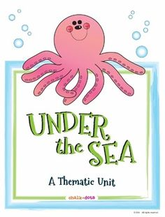 "This is a fun thematic unit on the ocean which contains a variety of activities that can supplement your standard ocean unit. These creative activities can be integrated into your curriculum throughout your entire ocean unit. They encompass many areas of the curriculum including reading, writing, math, science, and art. By using these ocean-themed activities, your class will love learning about the ocean not only during ""science time,"" but all throughout the day as well!"