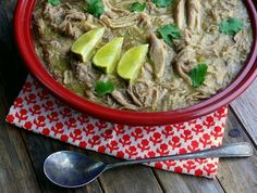 Slow Cooker Pulled Pork Chile Verde~T~ Haven't tried this. I would have to spice it up a bit. Trying soon.