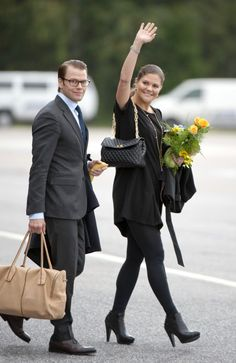 Crown Princess Victoria of Sweden.. #royalbump #chicbump #bumpstyle