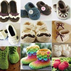 13 mejores imágenes de Zapatito tejido para bebe  1f1cd10a2225f