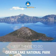 There is no place in the world quite like Crater Lake National Park. Its unique landscape inspires visitors from all over the world & should definitely be at the top of your list when visiting Oregon! #NationalPark #Oregon #camping #RVing #hiking #outdoors #destinations