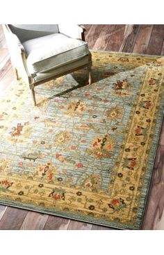$5 Off when you share! Rugs USA Treasures I Persian Oriental Style ZG06 Slate Rug