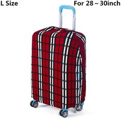 NEW Hot Hot Fashion Designer Print Universal Luggage Protective Covers 6 Designs 3 Sizes