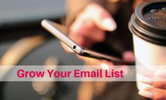 Beginners Guide To Building Your Email List. #getitdonemum #smallbusiness #mumlife #businesstips