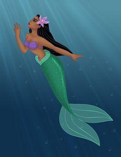 Pocahontas en Ariel