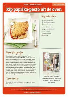 600 kcal per dag recept