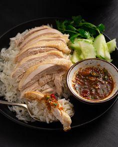 Thai Recipes, Indian Food Recipes, Asian Recipes, Chicken Recipes, Healthy Recipes, Healthy Food, Korean Fried Chicken, Thai Chicken, Chicken Rice