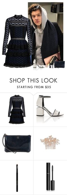 """""""Harry Styles #140"""" by ambere3love34 ❤ liked on Polyvore featuring self-portrait, Alexander Wang, Kate Spade, Nina, Gucci, Chanel and Yves Saint Laurent"""