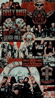 Retro Wallpaper, Aesthetic Iphone Wallpaper, Galaxy Wallpaper, Guns N Roses, Foto One, Rock Band Posters, Images Esthétiques, Band Wallpapers, Music Bands