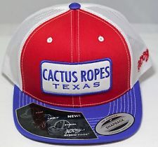 Hooey Hats Cactus Ropes Texas trucker hat CR013