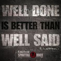 A Spartan proves themselves through actions, not words Career Quotes, Life Quotes, Qoutes, Daily Motivation, Fitness Motivation, Spartan Quotes, Spartan Life, Spartan Warrior, Doers Of The Word