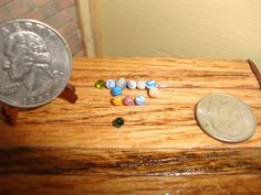 Dollhouse Miniature Fairy Garden Toys & Games 12 pk Real Glass Marbles #F5-3 #Unbranded