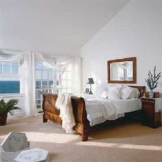 A bedroom is a retreat from the outside world- the one place where you can really please yourself