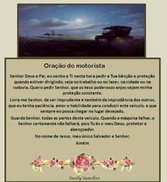 oração do motorista