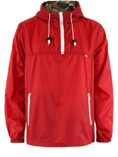Obey - Basin Pullover Red Jacket - $150.00