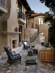 Mediterranean Patio Design, Pictures, Remodel, Decor and Ideas - page 19