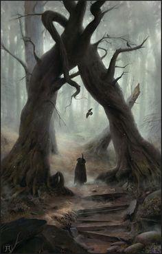 Ancient Lovers, Igor Krstic on ArtStation at https://www.artstation.com/artwork/bbZ6m