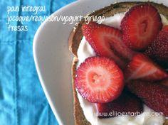 Ideas – Recetas saludables y dulces para desayunar   Blog Elijo Estar Bien