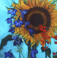 """Good Day Sunshine"" by Andrea LaHue Painting"