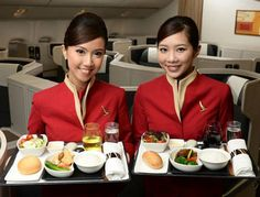Cathay Pacific Airways cabin crew