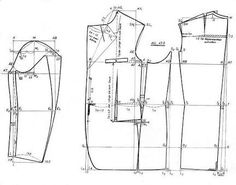 tailleur patterns - Buscar con Google