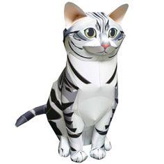 Bouwplaat hond en kat downloaden om snel en makkelijk een sinterklaas surprise te maken. Leuke Sinterklaas surprises maak je met de dieren bouwplaten van