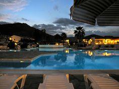 the pool deck at dusk by Esthr, via Flickr