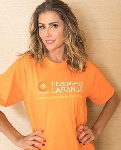 #Deborah Secco abraça o Dezembro Laranja contra o câncer da pele - Revista Quem: Revista Quem Deborah Secco abraça o Dezembro Laranja…