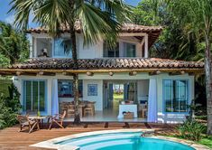 Home-Styling: Magnificent Houses - Tropical Hideaway * Casas Magníficas - Refúgio Tropical