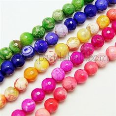 Natural Fire Agate Beads Strands G-D210-10mm-M1-1. Beads and findings wholesale. Make jewelry for a business. Wholesale to the public. http://jewelrymaking.biz.  #beads,#agatebeads,#agate,#makejewelry,#jewelry