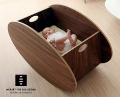 Looking for contemporary nursery solutions? Look no further than out modern baby furniture collection to find cute cribs, mattresses, chairs, and much more. Baby Rocking Crib, Baby Bassinet, Baby Rocker, Rocking Chair, Wood Projects, Woodworking Projects, Woodworking Jigs, Baby Kind, Cool Ideas