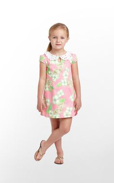 Lilly Pulitzer also is for young, fashion forward girls. Of course mom or dad would have to buy these outfits for their little ones because of their prices, but nearly for every shift dress for mom, there is a matching one for daughter.
