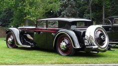1932 Bucciali TAV. Front-wheel drive, twelve-cylinder, sleeve-valve engined.
