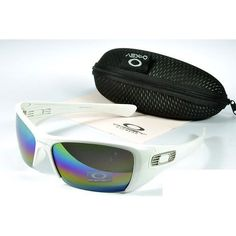 edeafd3071  17.99 Replica Oakley Hijinx Sunglasses Blue Pink Yellow Iridium White  Frames Store Deals www.racal