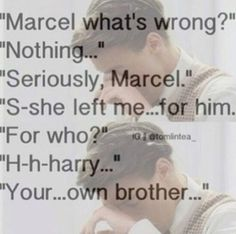 If this doesn't toy with your emotions, you might want to consult a doctor.<< It's ok Marcel, How bout we go out for dinner.you'll feel a lot better! Marcel Imagines, 1d Imagines, One Direction Imagines, Harry Styles Imagines, One Direction Humor, Best Song Ever, Best Songs, Marcel Styles, 1d Preferences