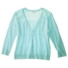 Mossimo Supply Co. Women's Plus-Size 3/4-Sleeve Cardigan - Assorted Colors