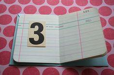envelope book :)