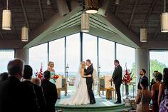 Horseshoe Bay Resort Wedding, You may now kiss the bride!