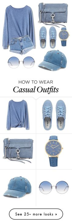 """""""for a sunny day yet chilly weather, your casual (blue) sunday afternoon look."""" by scrindipity on Polyvore featuring Gap, Levi's, Rebecca Minkoff, Linda Farrow and Mudd"""